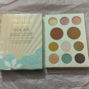 Pacifica Solar Palette - shadow, blush, highlight